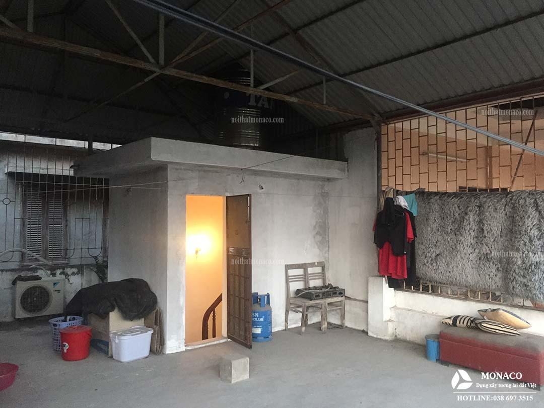 Công trình cải tạo sân vườn số 53 phố Dịch Vọng – Cầu Giấy – Hà Nội