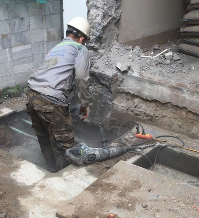 Cải tạo, sửa chữa biệt thự trọn gói tại Long Biên Hà Nội
