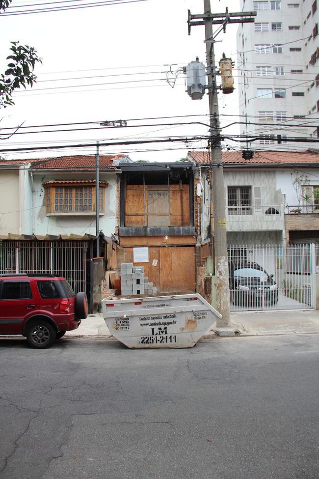 Dự án cải tạo nhà kho cũ nát thành căn nhà ống hiện đại tại Sóc Sơn