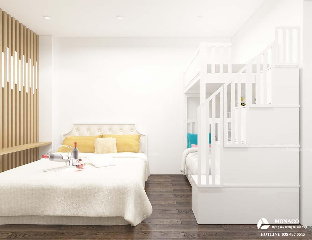 Nhà tập thể 40 m2 rộng rãi nhờ nội thất thông minh