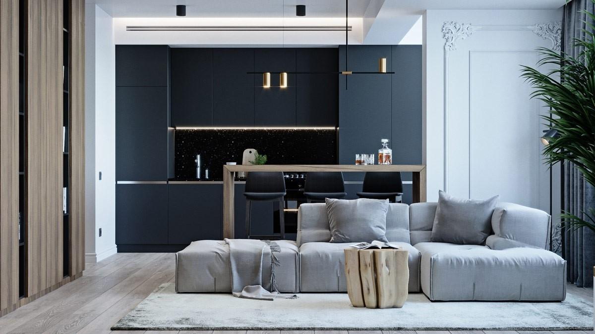 Nội thất căn hộ chung cư Imperial Plaza 360 Giải Phóng – một thiết kế căn hộ ấn tượng đến từ đội ngũ của Monaco