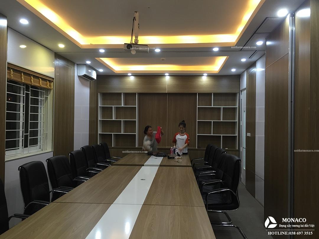 THIẾT KẾ NỘI THẤT VĂN PHÒNG NHẬT BẢN SANG TRỌNG-Công ty Cổ phần HANOI HTD