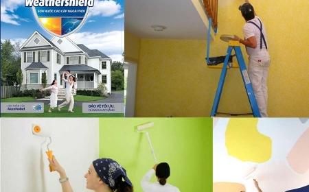 Bảng báo giá, đơn giá, dự toán chi phí sơn tường, sơn nhà 1/2019