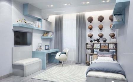 Những mẫu thiết kế phòng ngủ cho bé trai cá tính