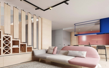 Thi công và cải tạo nội thất nhà 3 tầng tại hà nội phong cách hiện đại – chị Liên