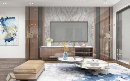 Thiết kế nội thất căn hộ 3 phòng ngủ chung cư sky central- Mr Hải