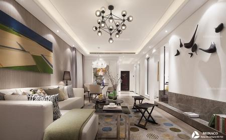 Thiết kế nội thất chung cư Bea Sky Nguyễn Xiển – Chị Lan Anh