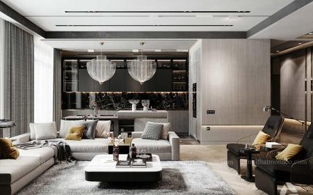 Thiết kế nội thất chung cư tại Sunshine Garden phong cách luxury sang trọng đẳng cấp-Mr Dũng