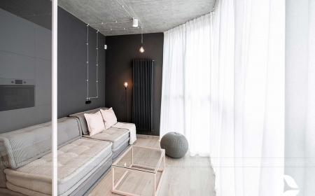 Thiết kế  thi công căn hộ studio 50m2 tại  Cầu Giấy Hà Nội- Chị Mai Anh
