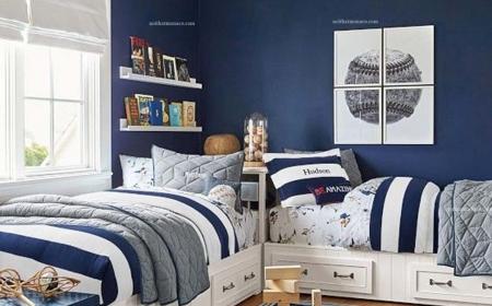 Ý tưởng thiết kế phòng ngủ cho nam độc đáo mới lạ