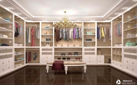 21 ý tưởng thiết kế phòng thay đồ nam năm mới nhất 2019